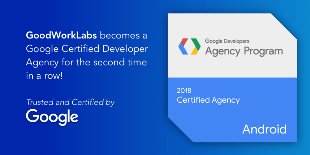 google certified agency - goodworklabs