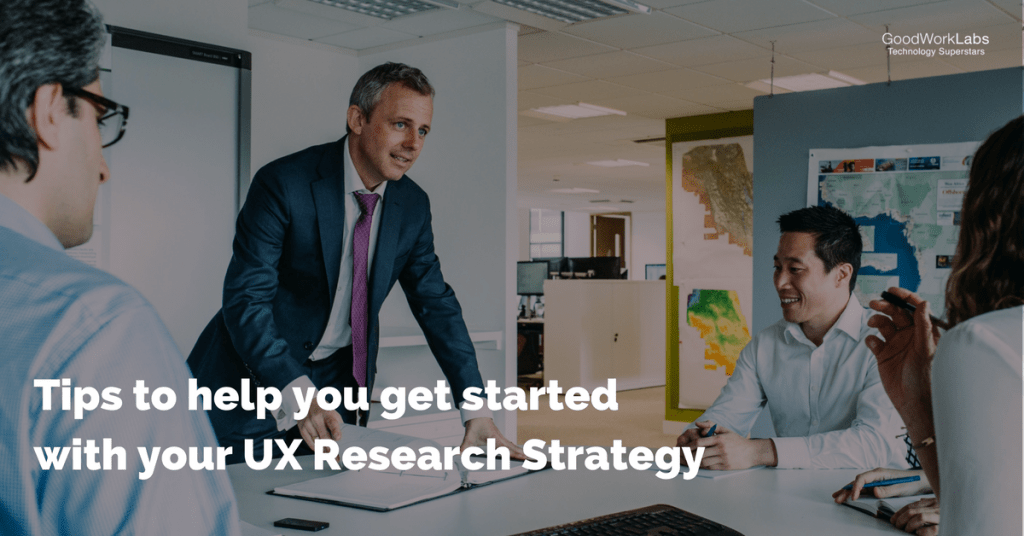 UX research strategy