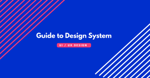 Design systems for UX