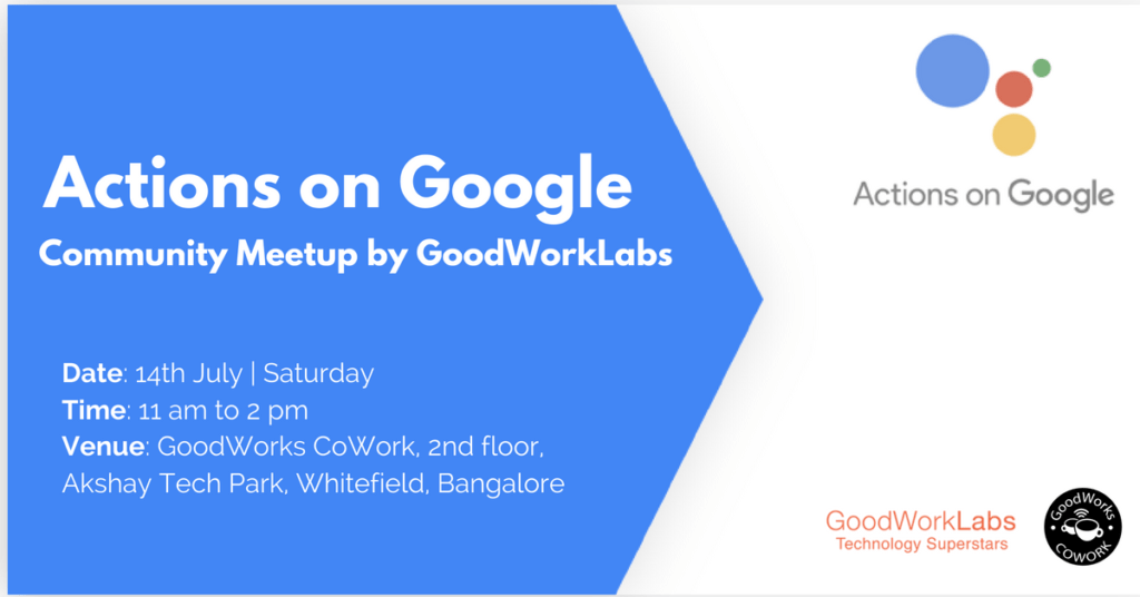 Actions on Google Community Meetup