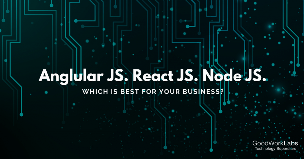 The best javascript framework