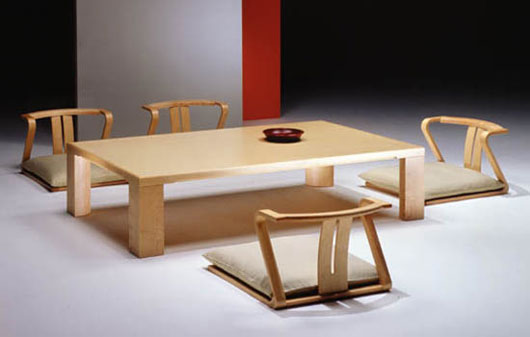 Japanese Furniture   Color  Style and Tradition   goodworksfurniture japanese furniture traditional japanese dining room furniture from hara  design 3 ZHKCNHG