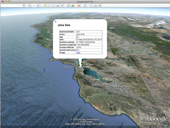 tutorials_odk_visualize7_google_earth