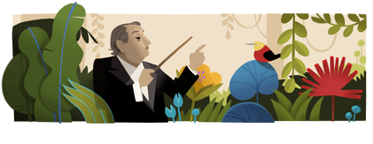 125º aniversário de Heitor Villa-Lobos