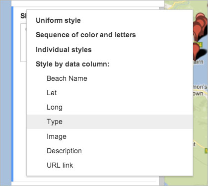 Style by Data Column
