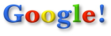 Google logo, circa 2001