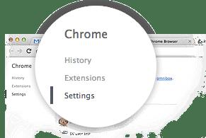 Tùy chọn của Google Chrome