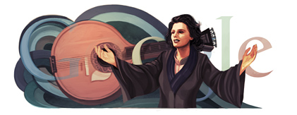 Amália Rodrigues' 91st Birthday