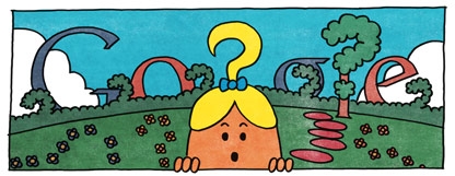 76th Birthday of Roger Hargreaves: Little Miss Curious