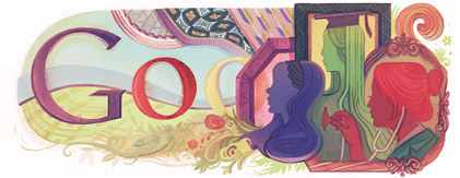 Google Doodle for International Woman's Day