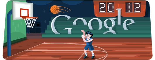 Новый дудл Google - баскетбол 2012