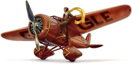 Google is noting Amelia Earhart's 115th birthday.