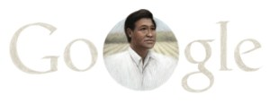 Google with Cesar Chavez - at Easter