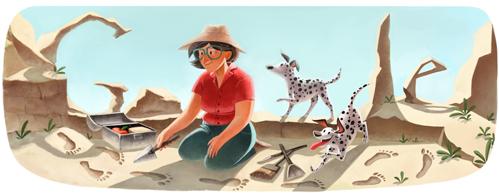 Mary Leakey's 100th Birthday