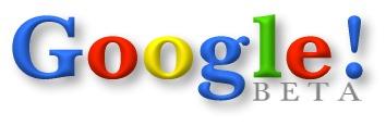 Google first logo