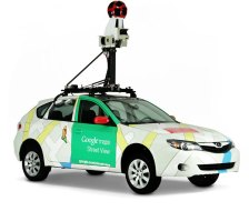 Resultado de imagen de google maps car
