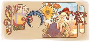 150e anniversaire de la naissance d'Alfons Mucha