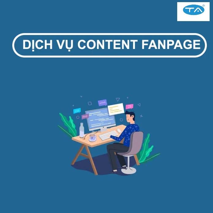 Dịch vụ viết bài cho fanpage