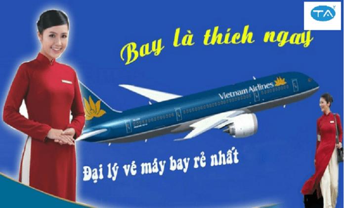 thiết kế website bán vé máy bay của Thuận An