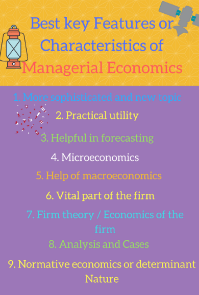 Features or Characteristics of Managerial Economics [Simple Notes]