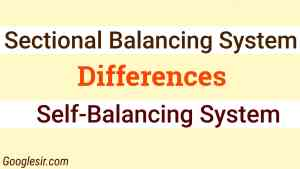 differences between sectional and self-balancing system