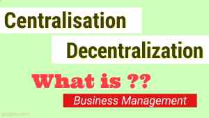 What are Centralization and Decentralization in Organization Management