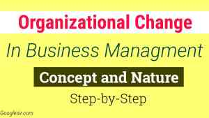 Management at Change Concept Nature with Proactive & Reactive