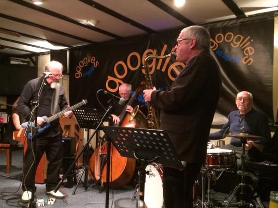 Googlies Quartet with Dave Barnes