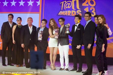 Tatt Awards 2013 Ernest Cu, Patrick Dee, Jamich, Kimpoy Feliciano