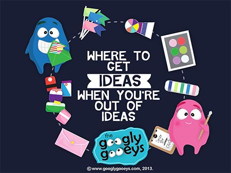 Where to Get Ideas if You're Out of Ideas