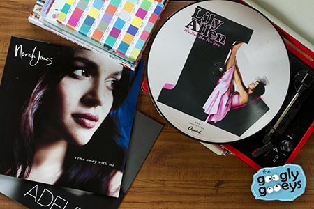 Where to buy Norah Jones & Lily Allen Vinyl Records