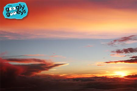 Air Asia Sunset Flight