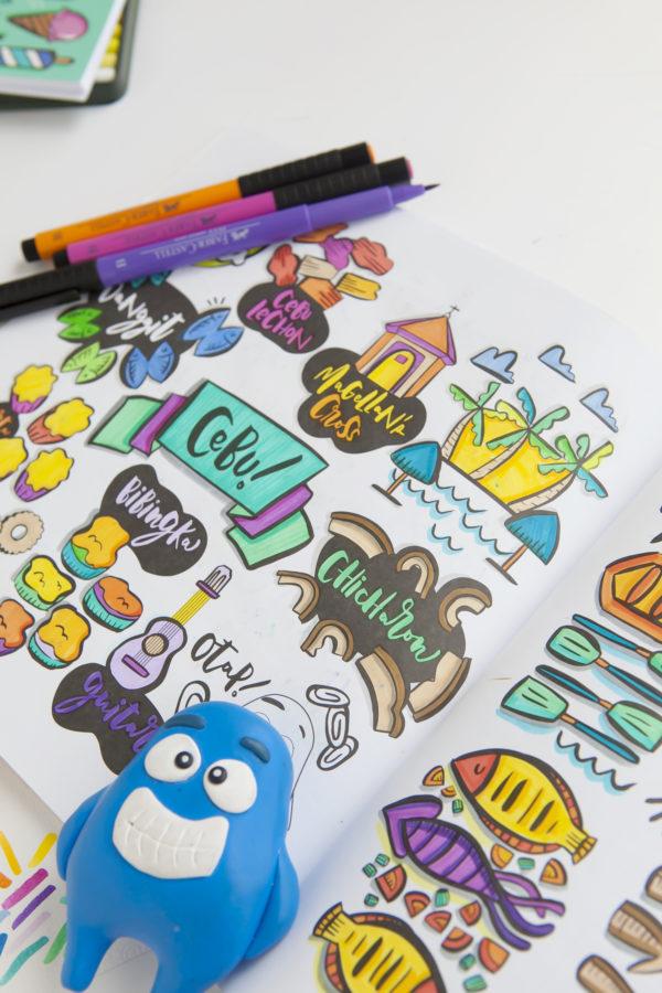 Coloring Book Chicharon Cebu