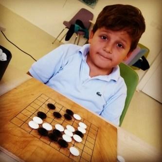 Ortaklar ve Rakipler Go Oyununda