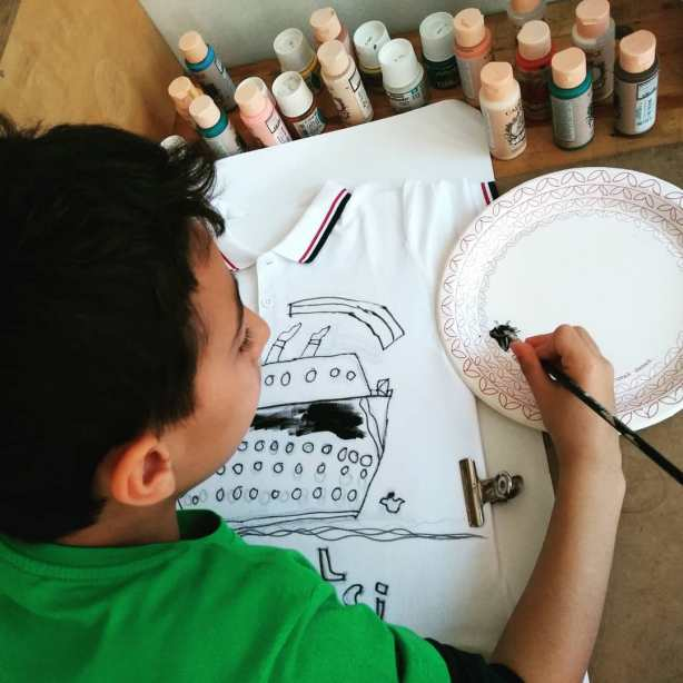 Çocuklar için Resim ve Sanat Kursumuz