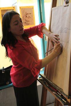 Sanat Eğitmenimiz Nazan Dizen