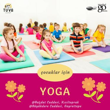 Çocuk Yogası Kursu ve Çocuk Yoga Atölyesi