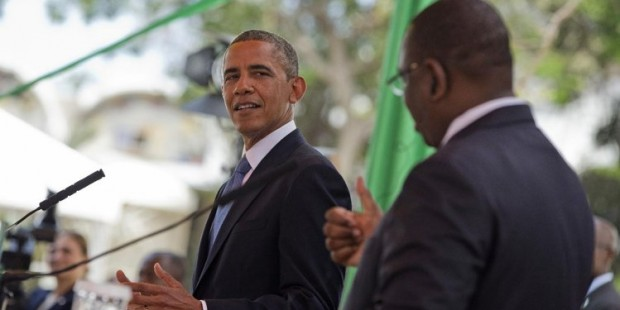 obama in senegal