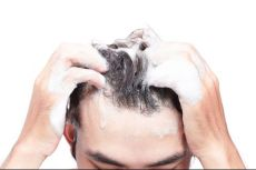 What are the various steps to apply ketoconazole shampoo