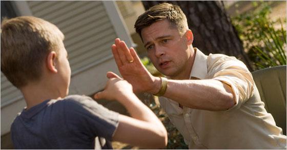 برد پیت در فیلم درخت زندگی