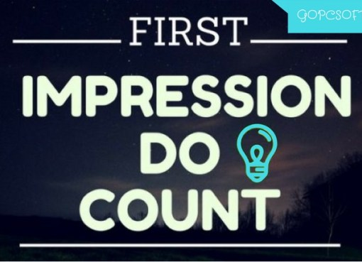 First Impressions Do Count