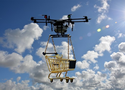 What if Delivery Drones were Popular?