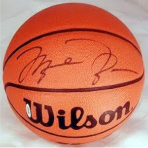 new products d966e 1efff Michael Jordan Signed Basketball - Golf Outing Productions