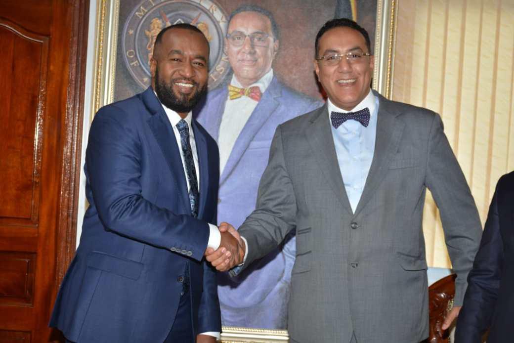 Cabinet Secretary Najib Balala Hosts Mombasa Kilifi