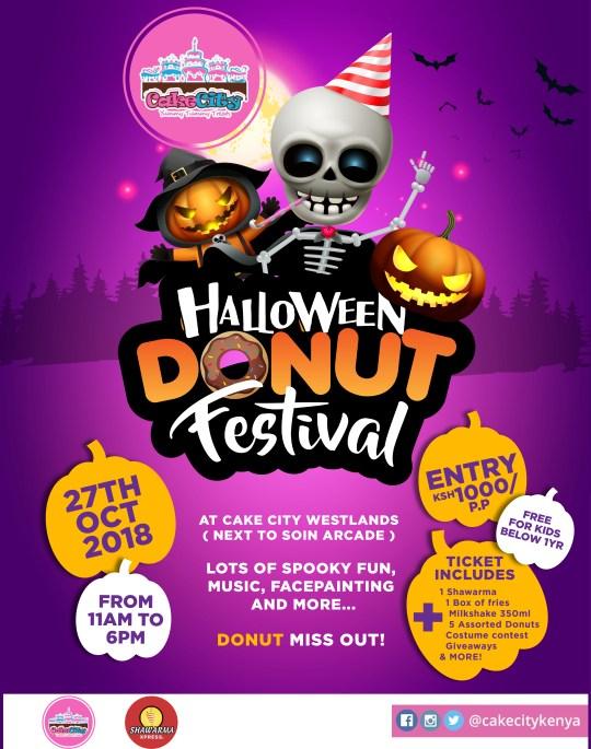 Halloween Donut Festival 2018