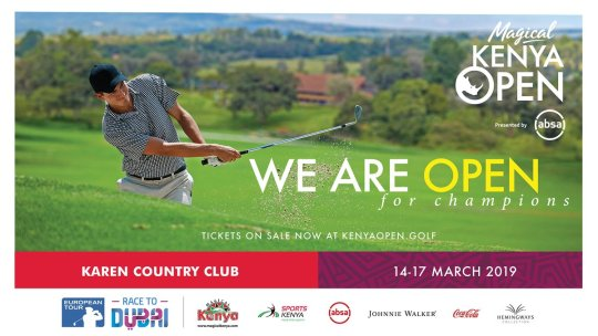 Magical Kenya Open Golf