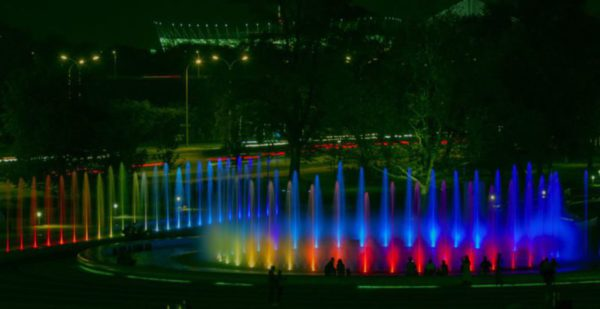 Стало известно расписание представлений мультимедийного парка фонтанов во Вроцлаве
