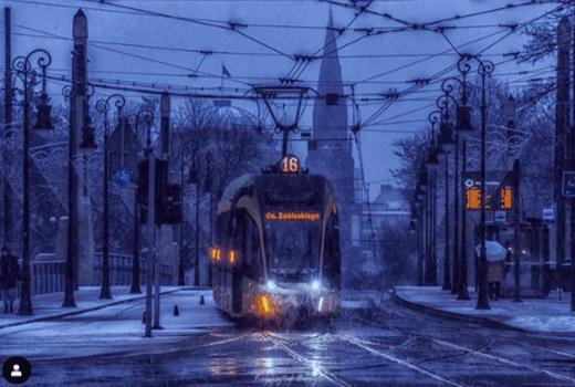 Города Польши в снегу. Фоторепортаж зимы-2019