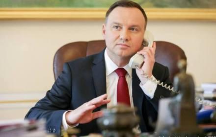 Президент Польши поздравил Владимира Зеленского с избранием Президентом Украины