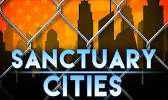 Image result for images of the executive order on immigration and sanctuary cities